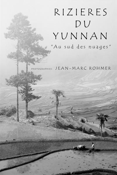 Affiche exposition Jean-Marc Rohmer Rizières du Yunnan